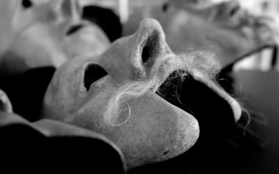 Masken auf dem Kieler Kunstfestival Futur 3