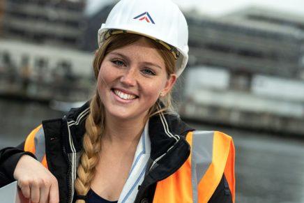 Lisa: Duales Studium Bauingenieurwesen (B.Eng.) an der FH Kiel und bei der GMSH