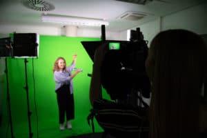 Green-Screen-Technologie ist Teil der Ausstattung der FHW