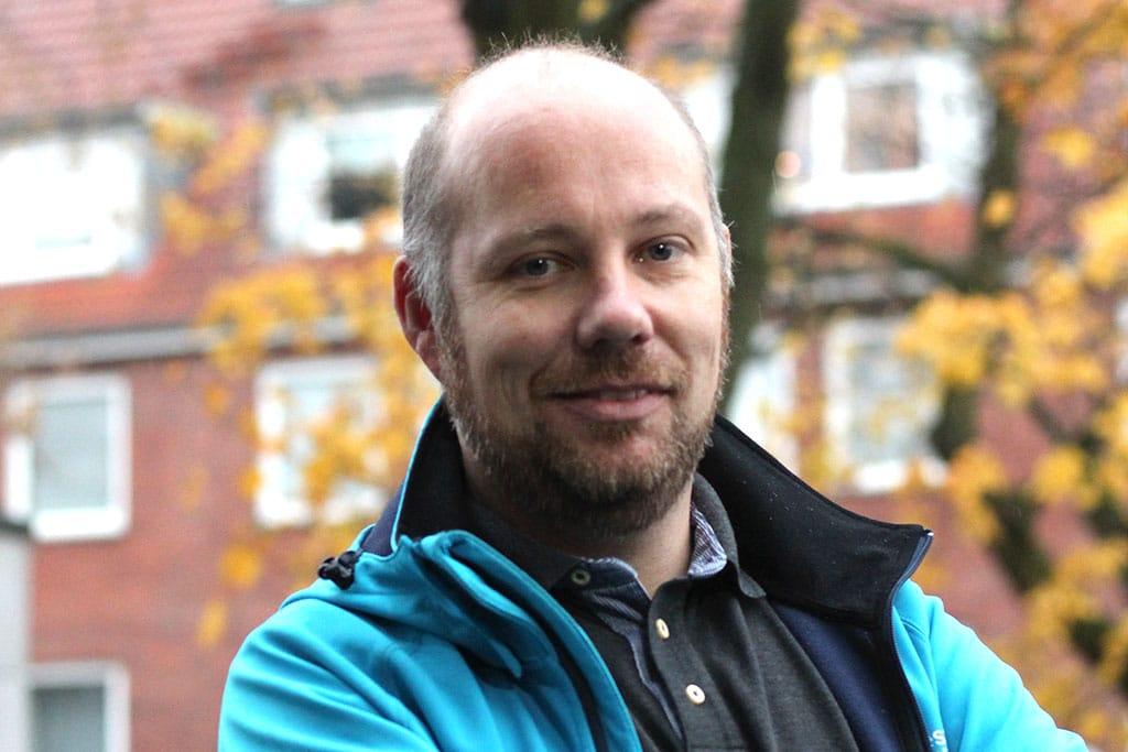 Mark Pöhlmann absolviert ein duales Studium bei der Stadtverwaltung Elmshorn