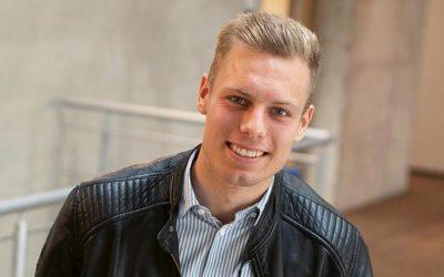 Malte Bargfrede, 27 aus Zeven, studiert im 5. Semester Triales Modell Betriebswirtschaft, Schwerpunkt Steuern an der FH Westküste.