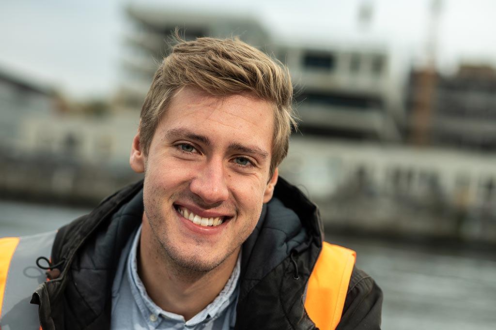 Torge: Duales Studium Bauingenieurwesen (B.Eng.) an der FH Kiel und  bei der GMSH