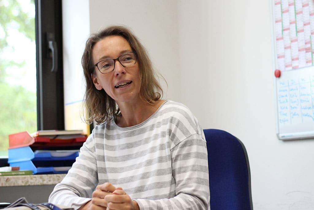 Stephanie Spies aus der Flexklasse der GMS Bredstedt
