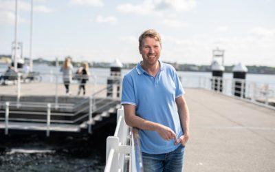 Benjamin Thöming von der Kreishandwerkerschaft Nordfriesland-Süd