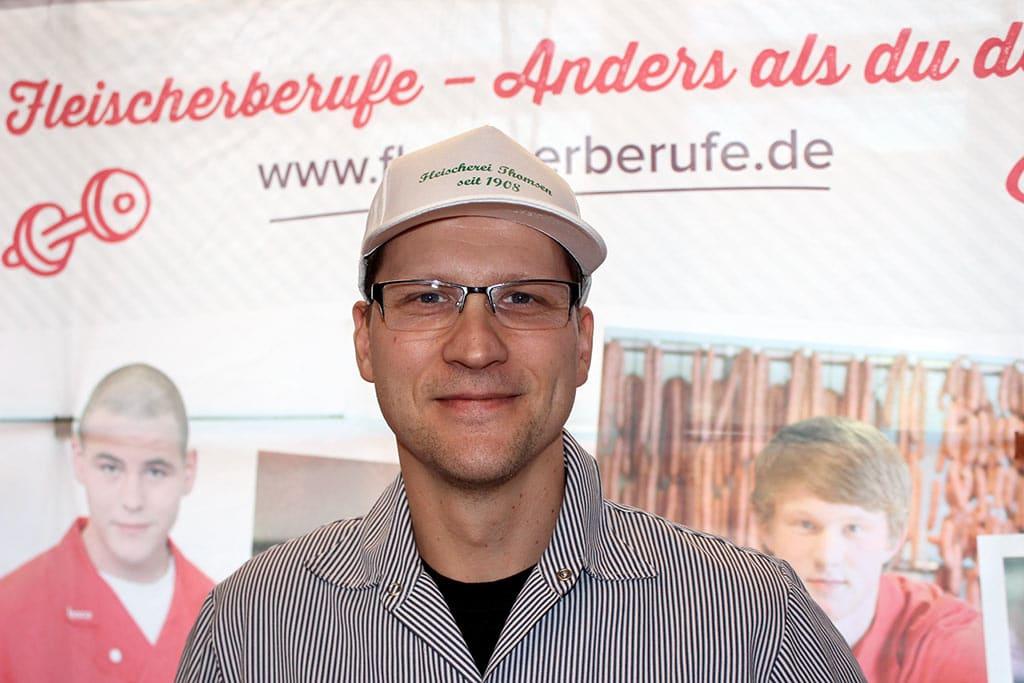 Manuel Rickerts Tellingstedter Jobmesse