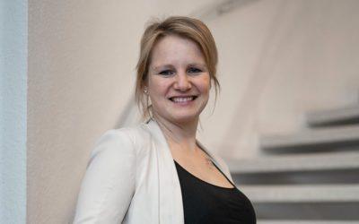 Verwaltungswirtin Corinna Simon vom Amt Eiderstedt