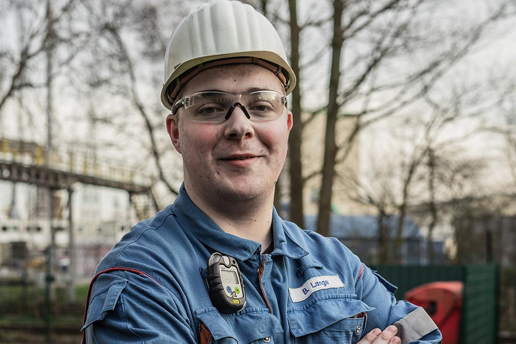 Bjarne: Baustoffprüfer bei TOTAL Bitumen Deutschland GmbH