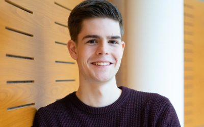 Lennard wird Verwaltungsfachangestellter bei der Kreisverwaltung Dithmarschen