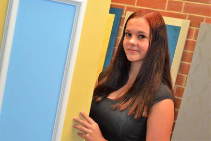 Isabelle: Ausbildung zur Malerin an der Beruflichen Schule des Kreises Nordfriesland in Niebüll