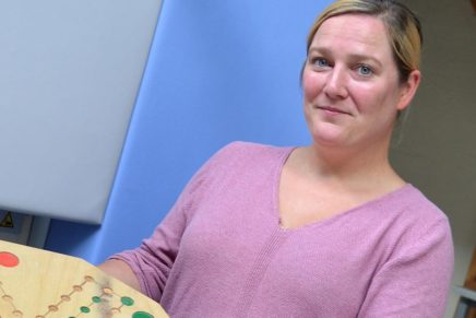 Maike: Ausbildung zur Tischlerin an der Beruflichen Schule des Kreises Nordfriesland in Niebüll