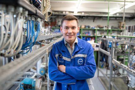 Dorian: Elektroniker für Automatisierungstechnik bei der Covestro Deutschland AG