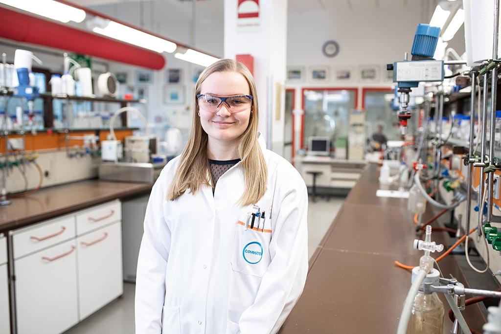 Lea: Chemielaborantin bei der Covestro Deutschland AG
