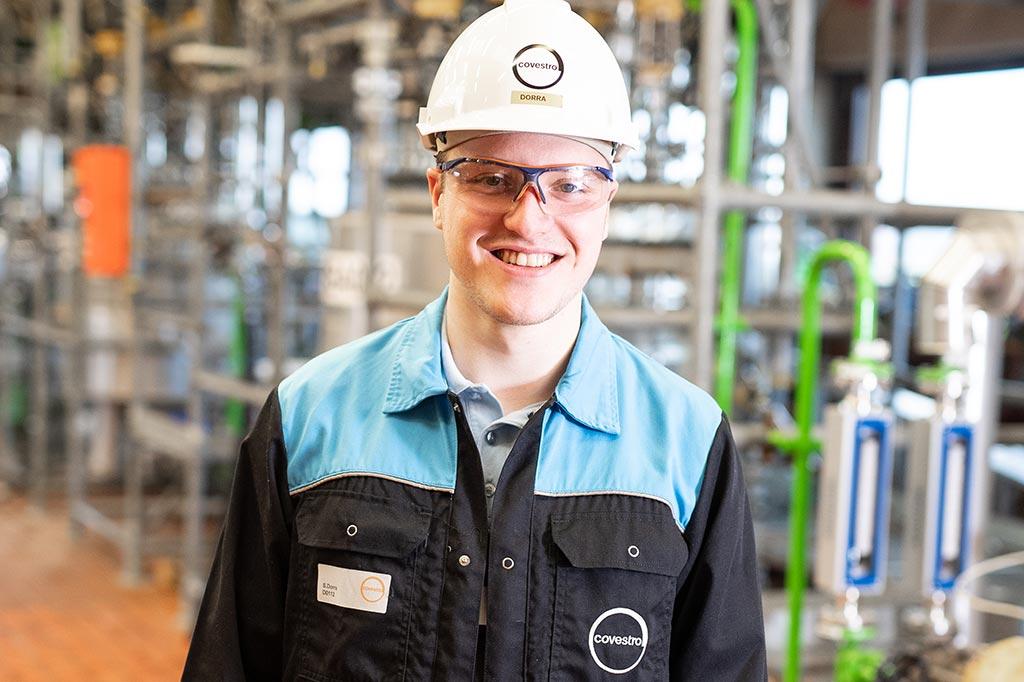 Sebastian: Chemikant bei der Covestro Deutschland AG