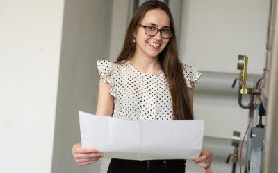 Angelika wird Technische Systemplanerin bei der GMSH