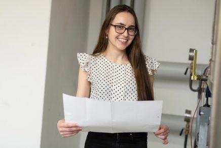 Angelika: Technische Systemplanerin bei der GMSH