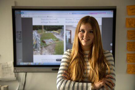 Lisa: Duales Studium Bauingenieurwesen (B.Eng.) bei der GMSH