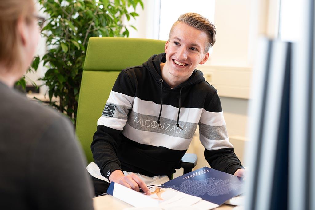 Fabian: Personaldienstleistungskaufmann bei der GMSH
