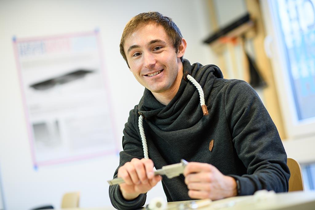 Jan: Systemtechnik an der Hochschule Flensburg
