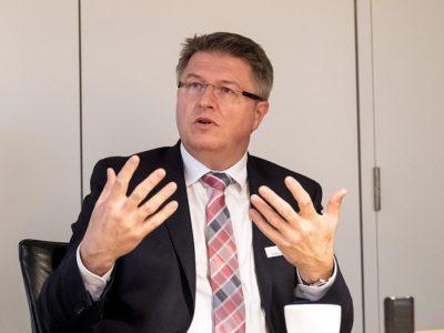 Stefan Mohrdieck ist Landrat des Kreises Dithmarschen