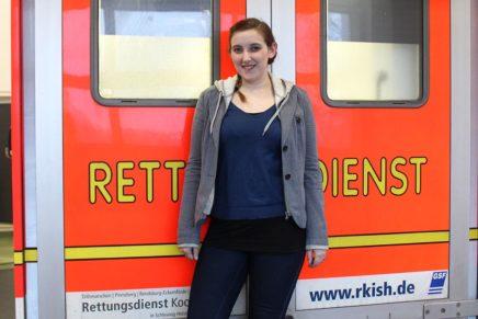 Kathie besucht die Rettungsdienst-Kooperation Schleswig-Holstein in Heide