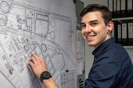 Ohne Zeichnung steht alles still – Technische/r Produktdesiger/in bei TOTAL Bitumen