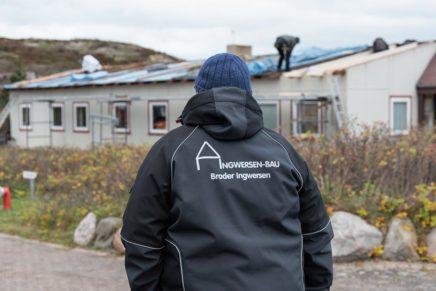 Baustellentour auf Sylt mit Broder Ingwersen – Firmenchef von Ingwersen Bau