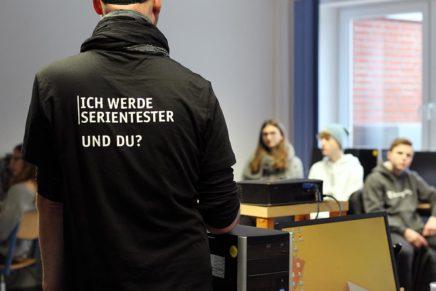 "Die Siegfried-Lenz-Schule bestellt den ""ME2BE-Medientag"""