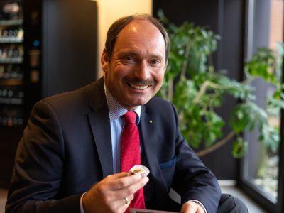 Bürgermeister Pierre Gilgenast aus Rendsburg
