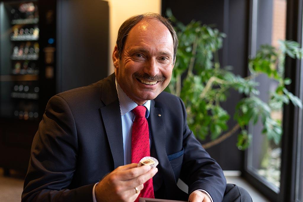 Mit dem Bürgermeister auf eine Praline – Pierre Gilgenast
