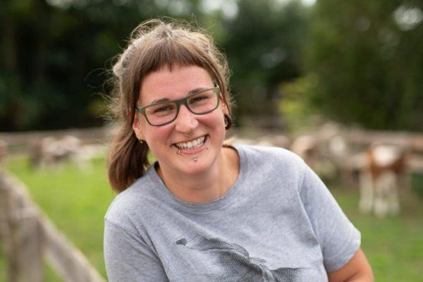 Kirsten Staben Bio-Landwirtin aus Schülldorf hat sich ihren Traum erfüllt