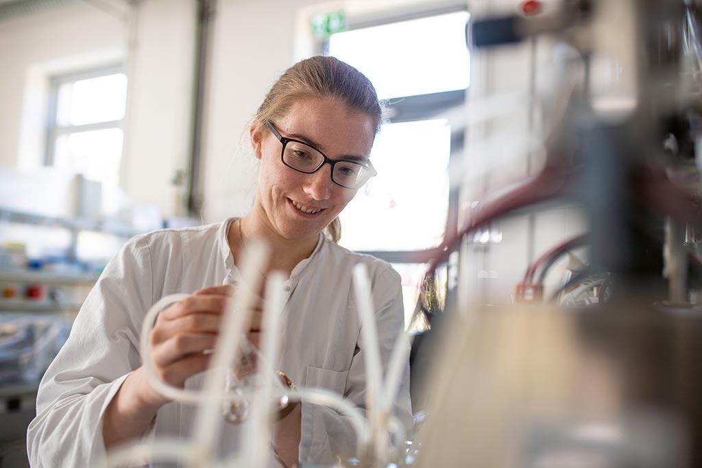 Sophie: Bio-, Lebensmittel- und Verfahrenstechnologie (B.Sc.) an der Hochschule Flensburg