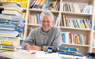 Prof. Dr. Hinrich Lorenzen spricht über das Mathematik-Studium an der EUF