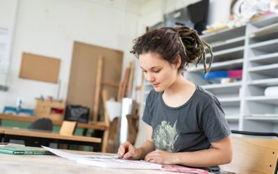 Lydia studiert Bildungswissenschaften an der Europa-Universität Flensburg