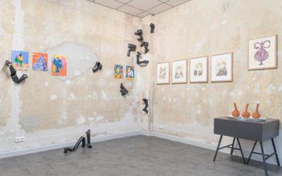 Cube + der neue Gallerieraum in Kiel