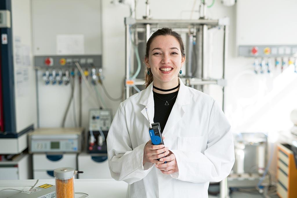 Kaína studiert Umweltingenieurwesen und -management an der FH Lübeck