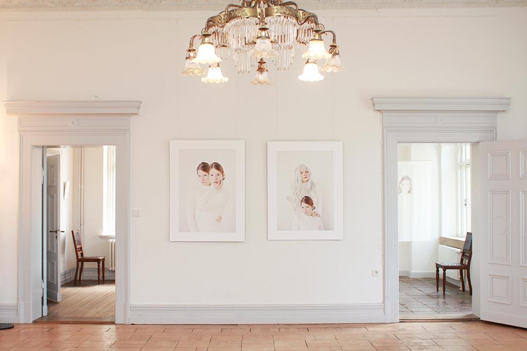 Einzelausstellung von Franziska Ostermann auf Gut Wittmold