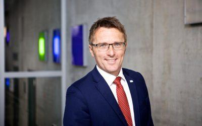 Professor Micha Teuscher ist Präsident der HAW