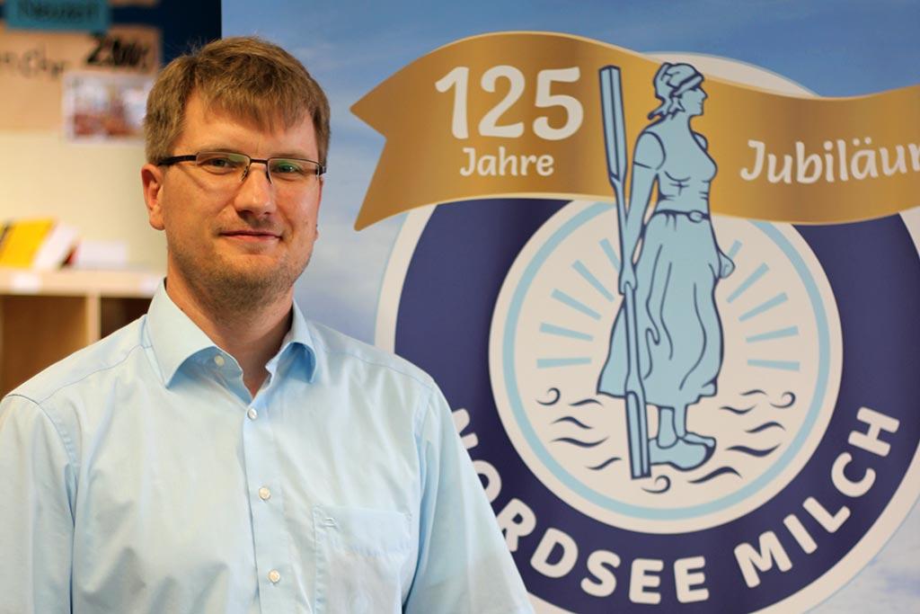 René Schmaus von NordseeMilch