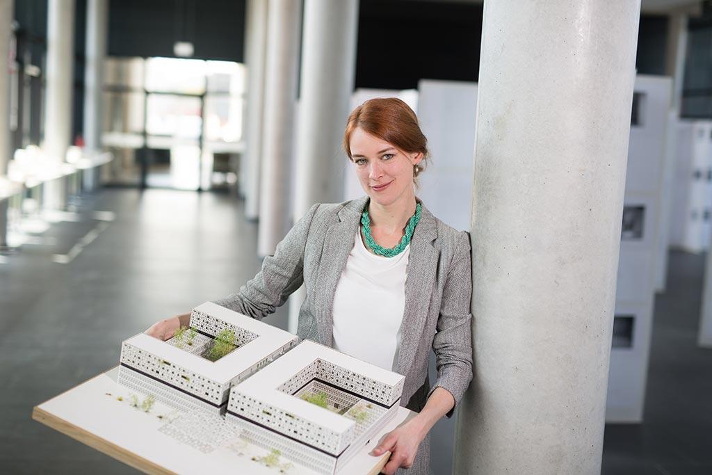Sarah Friede von der TH Lübeck