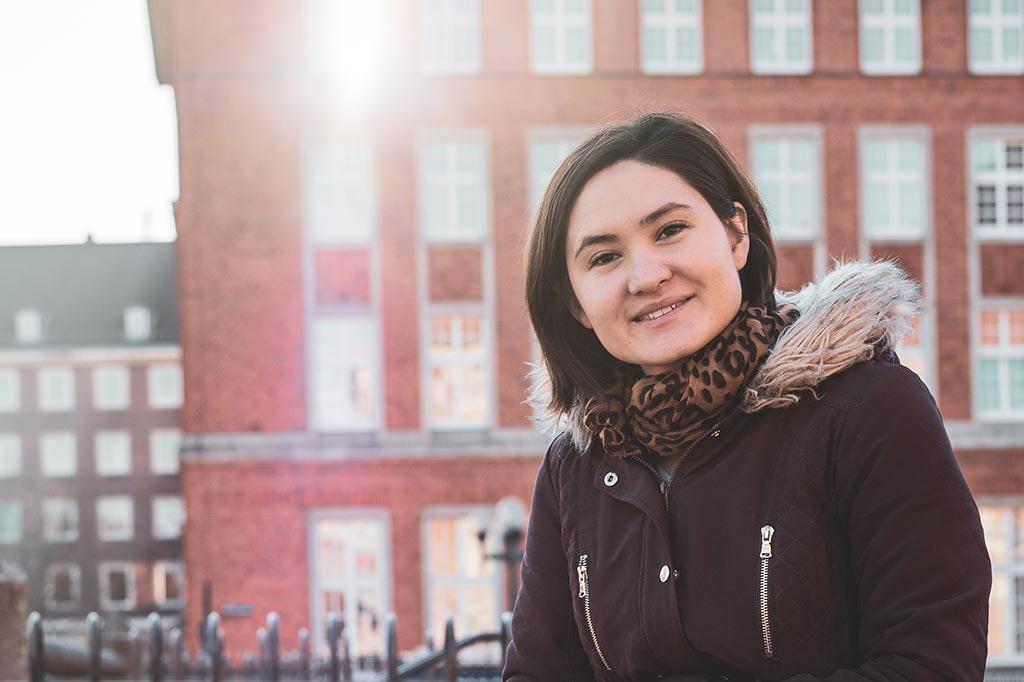 Helena Derheim, Gründerin von WunschWImper in Kiel