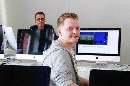 """Tim: Kommunikationsdesign an der """"htk academy"""" in Hamburg"""