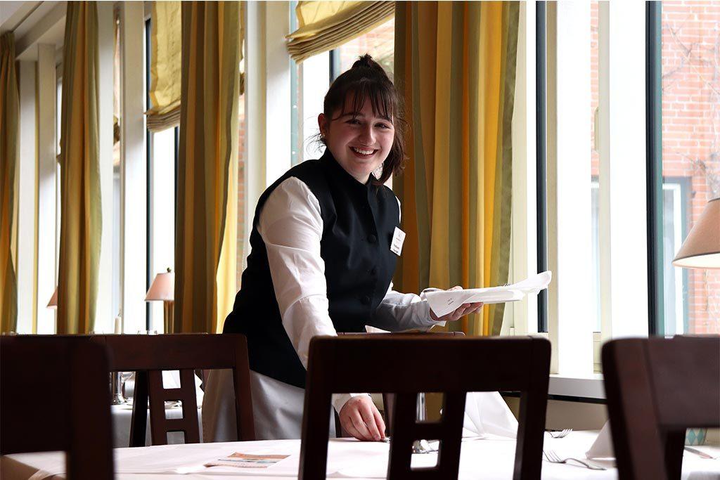 Vivien (14) hat ein Praktikum im Kieler Hotel Birke gemacht – und war sehr zufrieden.