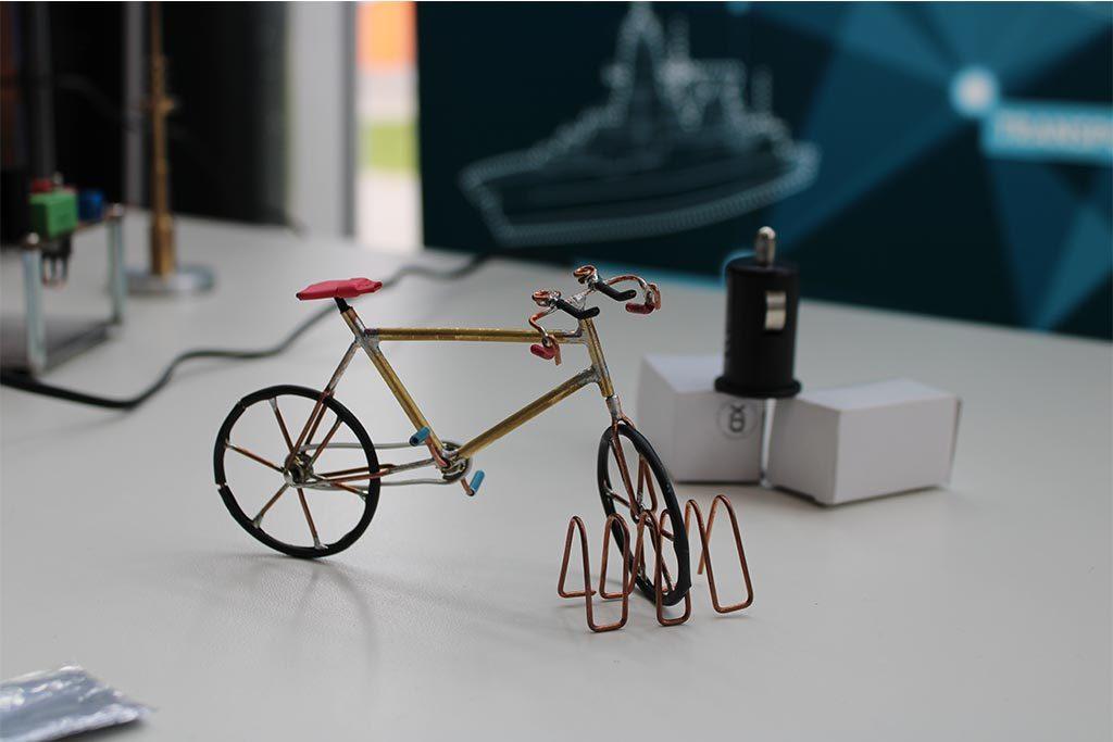 Was es mit diesem Fahrrad wohl auf sich hat?