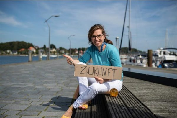 Julia Path wünscht sich einen Markt am Rendsburger Hafen.