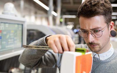 Jan: 3. Ausbildungsjahr zum Industriellen Buchbinder (Medientechnologe Druckverarbeitung) bei der CPI Clausen&Bosse GmbH