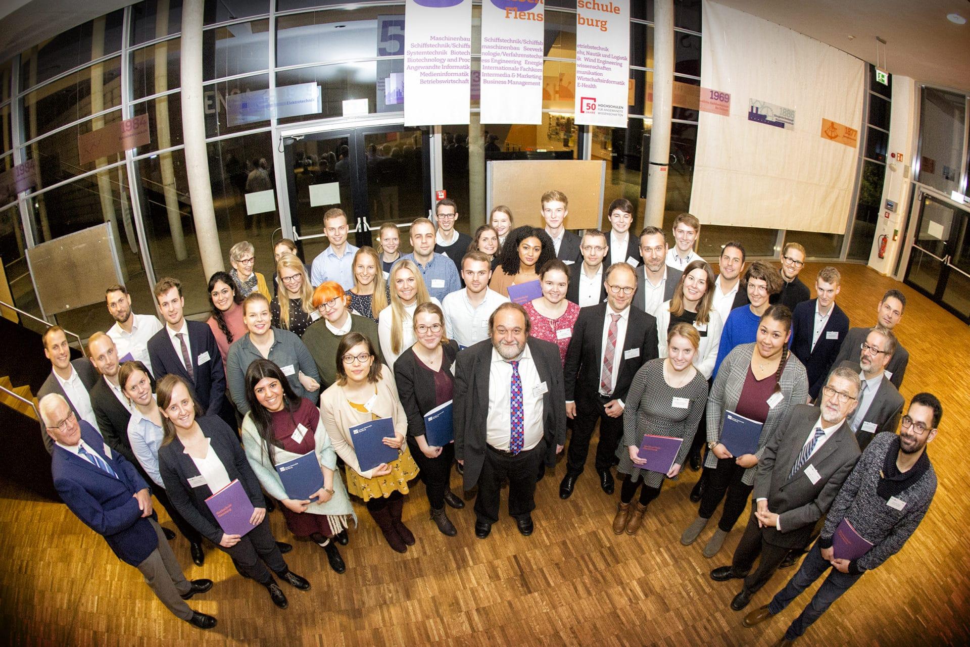 Flensburg: 35 Deutschlandstipendien an Studierende von HSFL und EUF