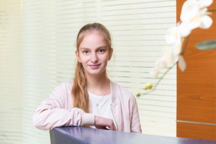 Henrike: 1. Jahr Ausbildungsjahr zur Verwaltungsfachangestellten bei der Kreisverwaltung Dithmarschen