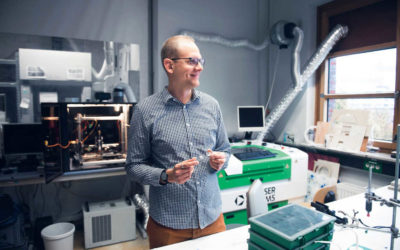 Der Nano-Ingenieur - Wie Leonard Siebert den Spagat zwischen Naturwissenschaft und Technik meistert