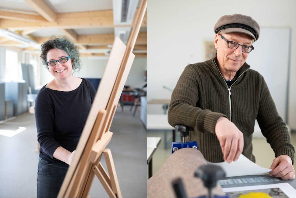 Die Kunst der Haltung – Wie angehende Kunstlehrerinnen und -lehrer an der  EUF auf ihren Beruf vorbereitet werden