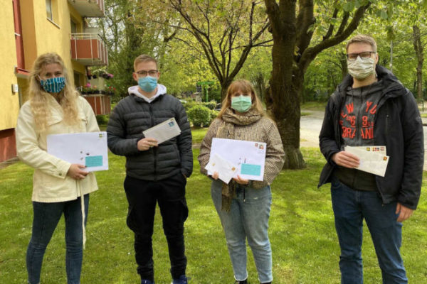 Kreative Hilfe in schwierigen Zeiten - Mit dem Projekt Briefmöwen wollen Studierende ältere Menschen in der Isolation eine Freude machen
